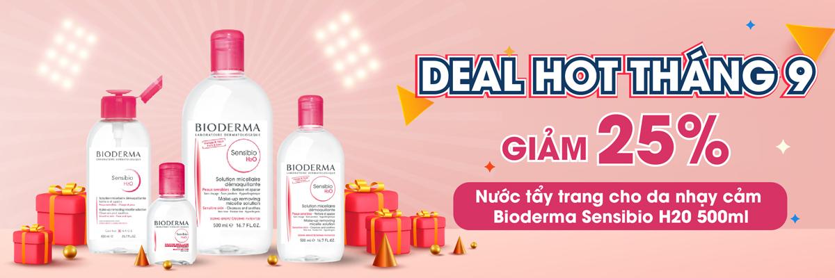 Giảm giá 25% Bioderma