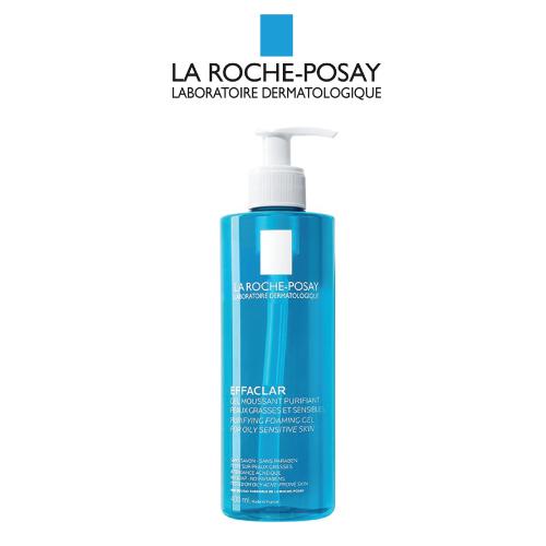 Gel Rửa Mặt Tạo Bọt Cho Da Dầu La Roche-Posay Effaclar Purifying Foaming Gel 400 ml
