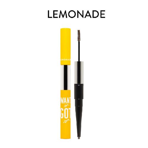 Chì Kẻ Mày 2 Đầu Lemonade Want It Got It Dual Eyebrow Dark brown 4g