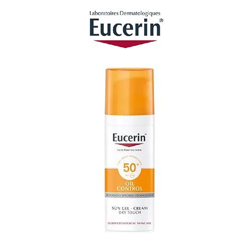 Kem Chống Nắng Eucerin Oil Control Gel-Cream Sun Dry Touch SPF50+ 50ml