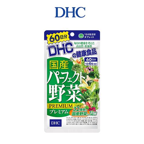 Viên Uống DHC Perfect Vegetable Premium Japanese Harvest 30 Ngày 120 Viên