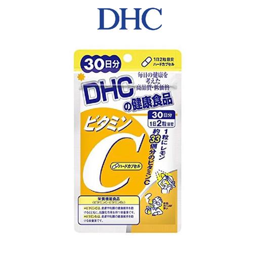 Viên Uống DHC Vitamin C Hard Capsule 30 Ngày 60 viên