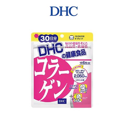 Viên Uống Làm Đẹp Da DHC Collagen 30 Ngày 180 Viên