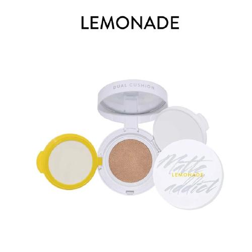 Phấn Nước Kiềm Dầu Lemonade Matte Addict Dual Cushion A01 16g