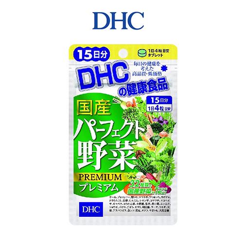 Viên Uống DHC Perfect Vegetable Premium Japanese Harvest 15 Ngày 60 Viên