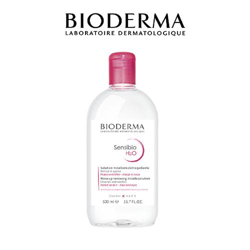 Nước Tẩy Trang Và Làm Sạch Dành Cho Da Nhạy Cảm Bioderma Sensibio H2O 500 ml