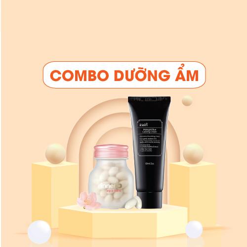 Combo Thực Phẩm Bảo Vệ Sức Khỏe InnerB Aqua Bank 56 Viên Và Kem Dưỡng Ẩm Dear Klairs Midnight Blue Calming Cream 60 ml